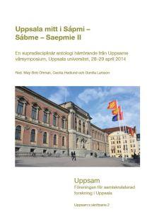 Uppsala mitt i Sápmi - Sábme - Saepmie II av May-Britt  Öhman