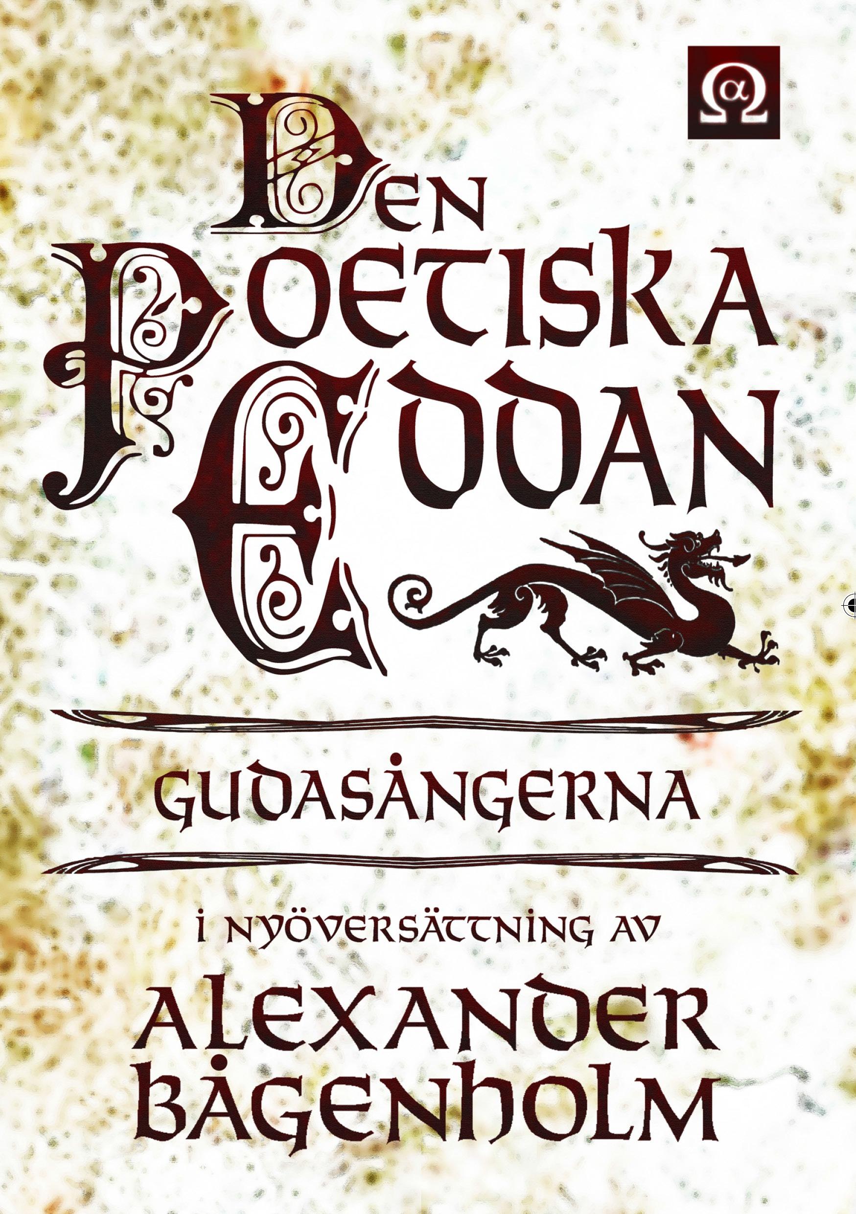 Den poetiska eddan av Alexander Bågenholm