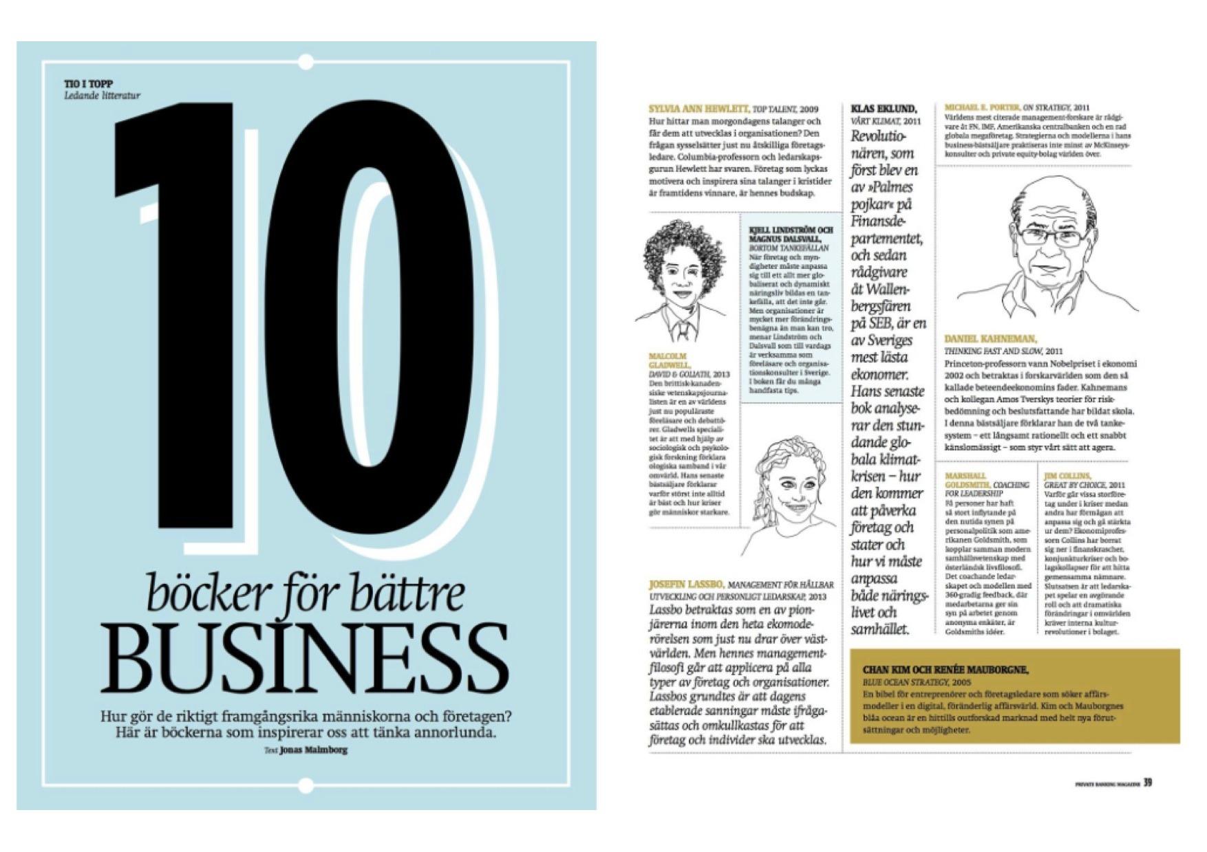 10 böcker för bättre business