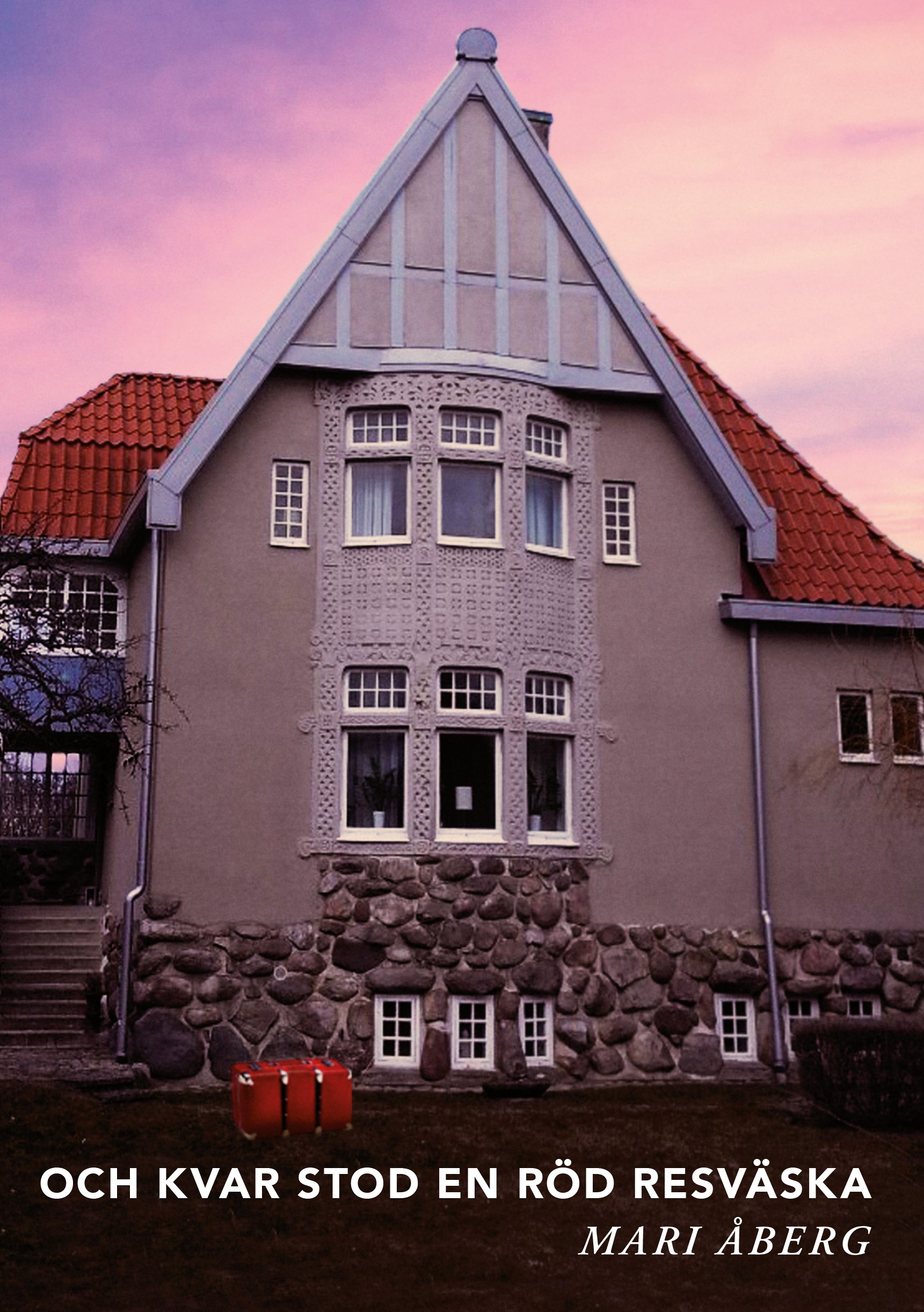 """Liberead tar upp """"Och kvar stod en röd resväska"""" av vulkanförfattaren Mari Åberg"""