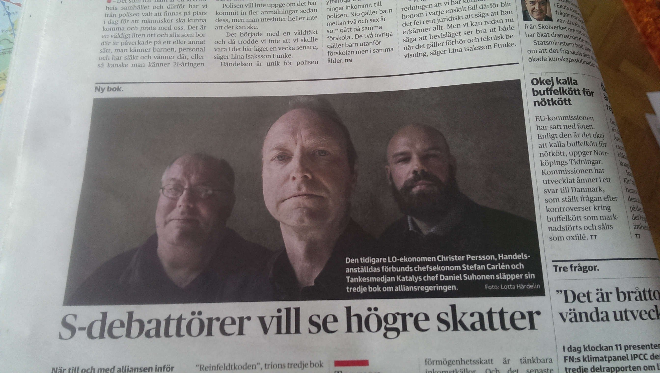 """Reinfeldtkoden"" utgiven av Vulkan med i DN"