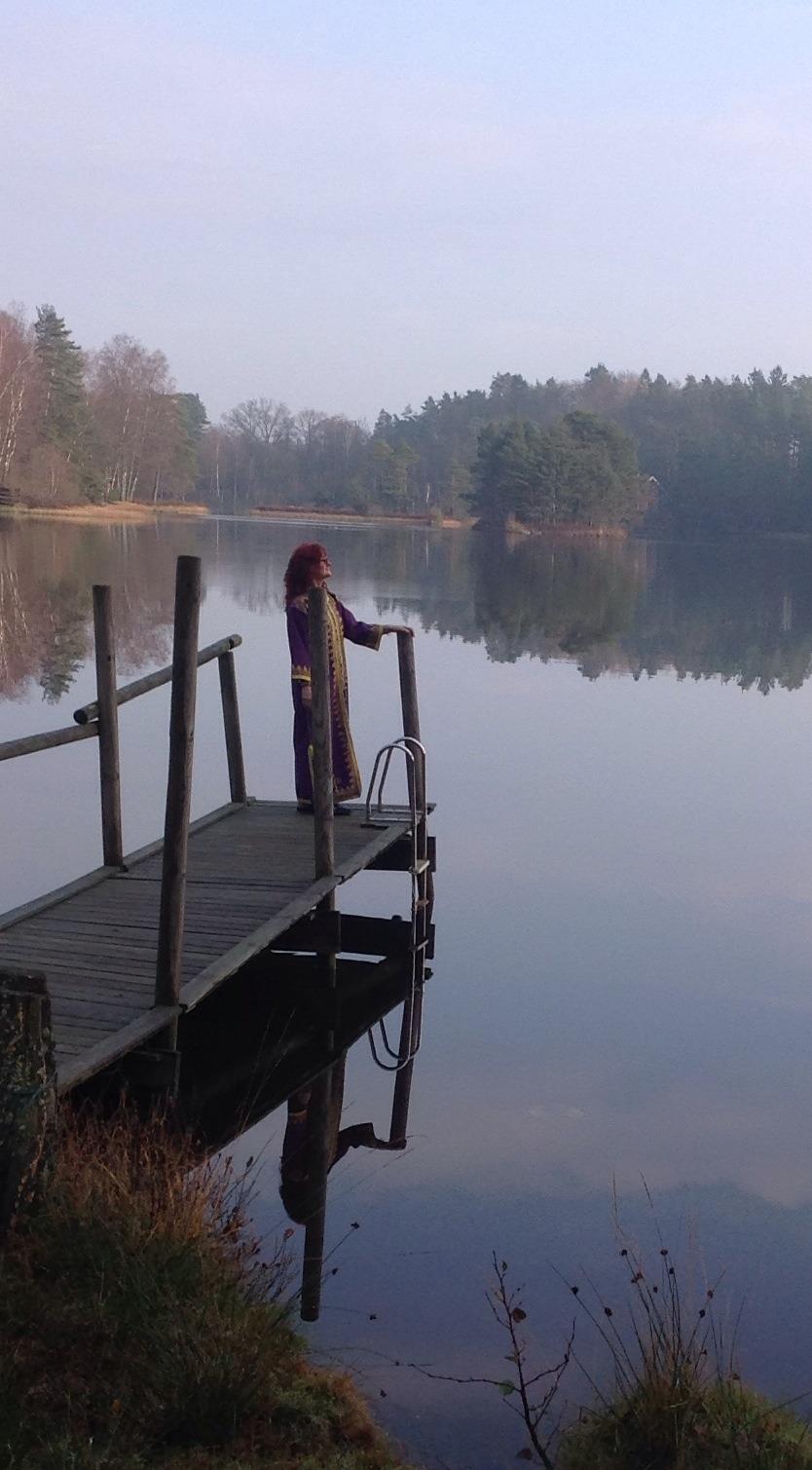 Kvinnan som träffade döden av Gila Persson
