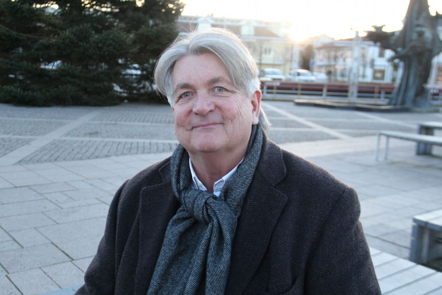 Christer Botéus intervjuas i Kungsbacka-Posten