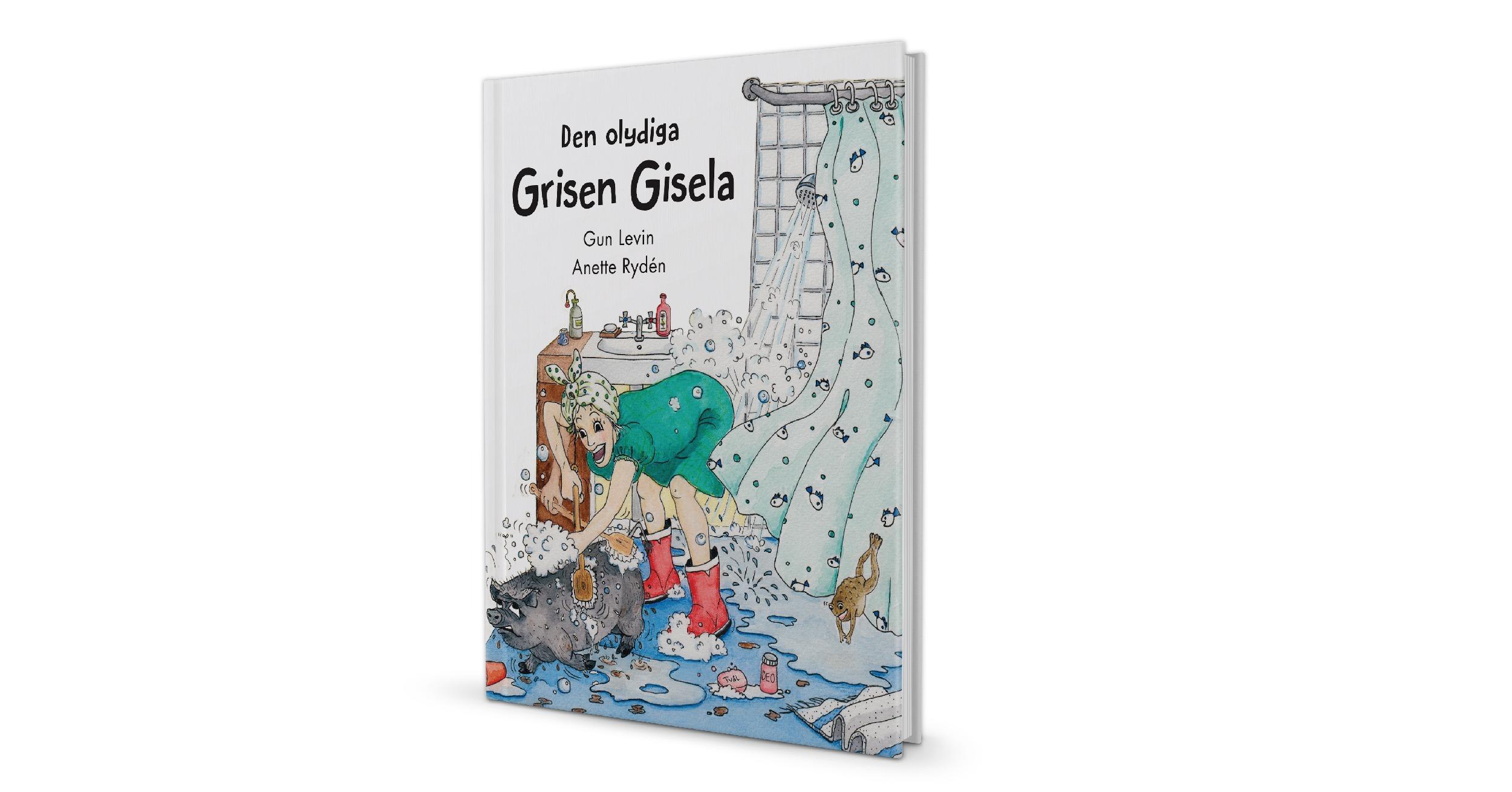 Författarintervju med Gun Levin om Den olydiga grisen Gisela