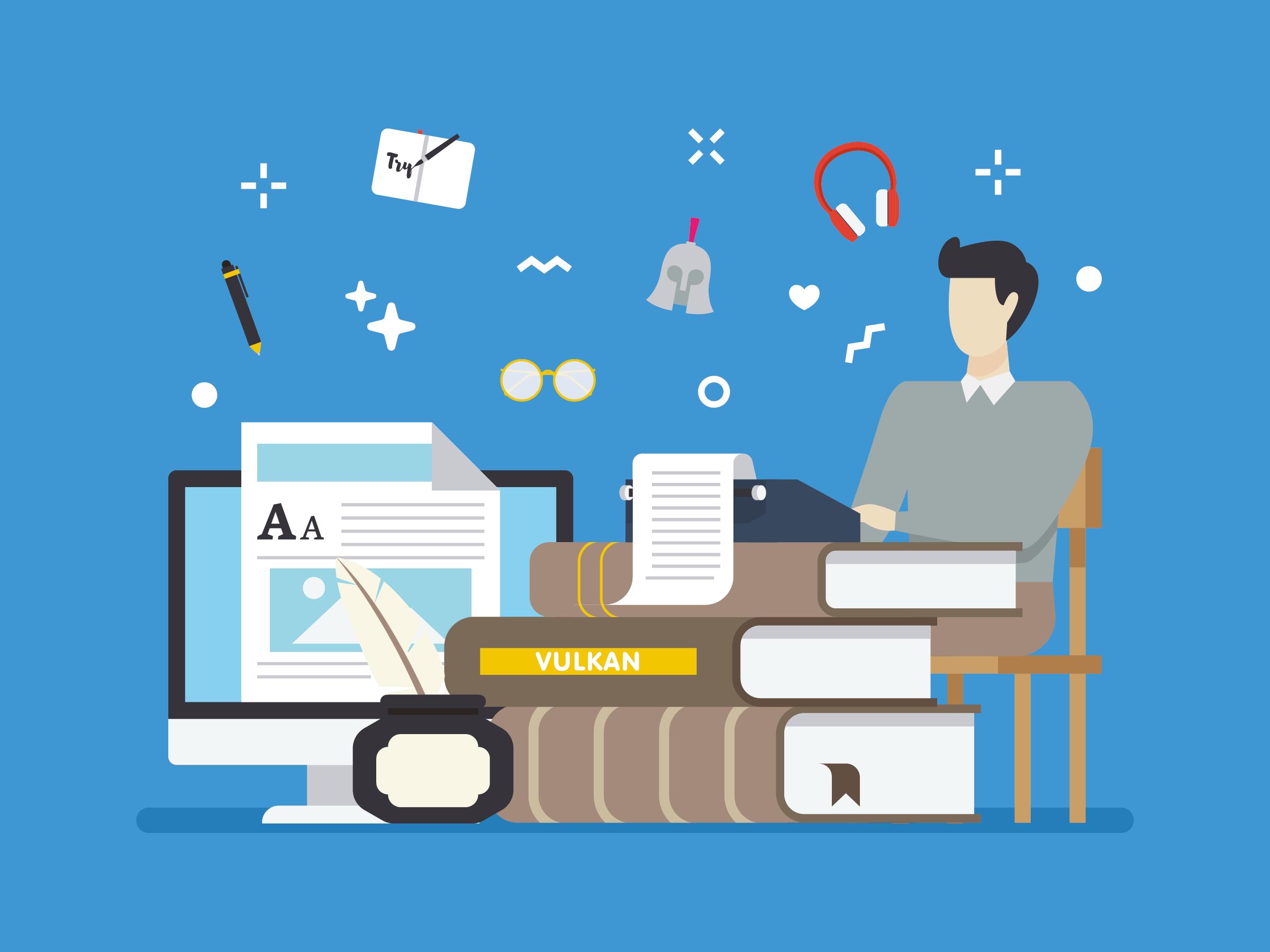 Är du en författare eller en skrivande person?