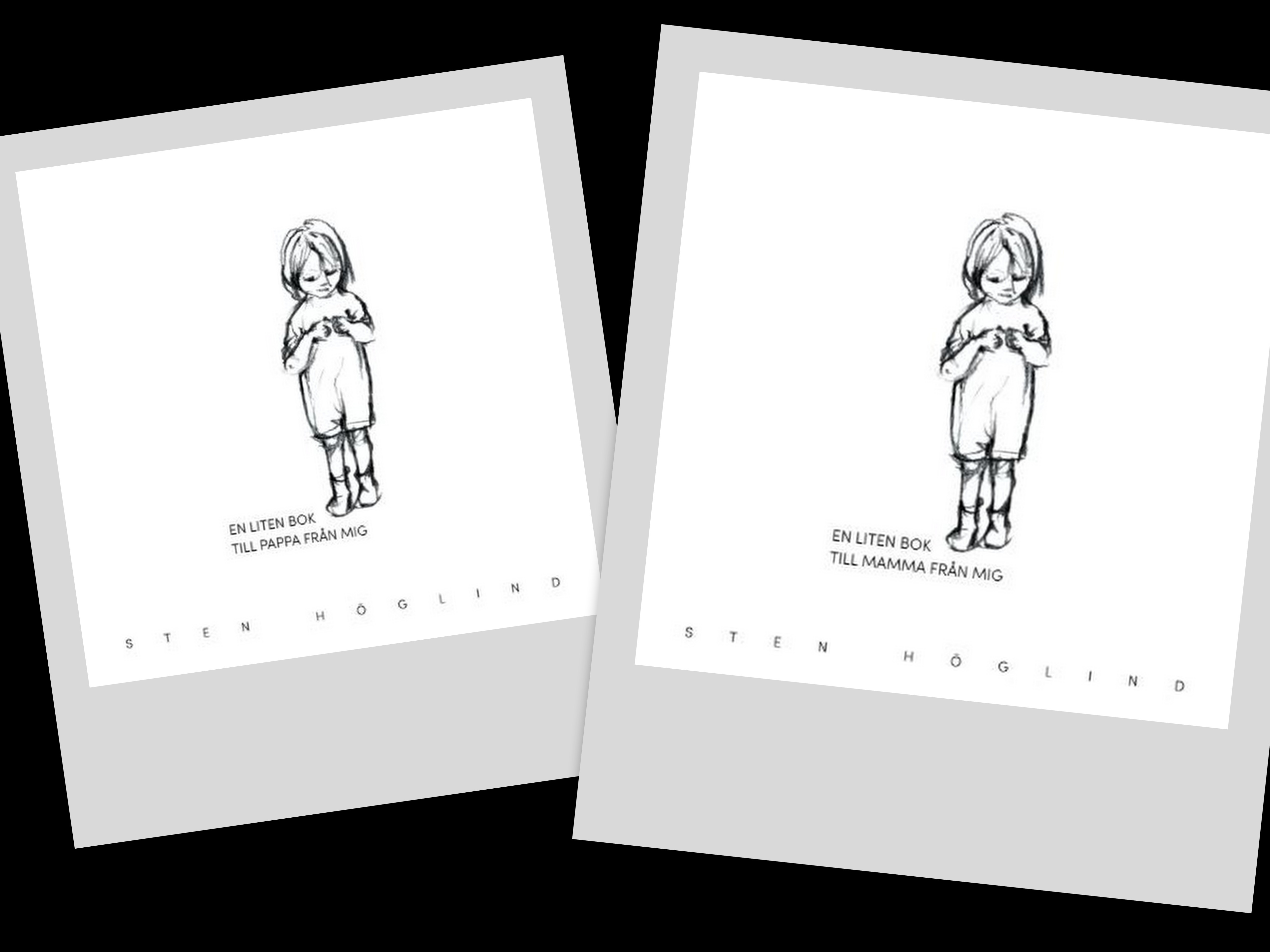En liten bok till mamma/pappa från mig av Sten Höglind