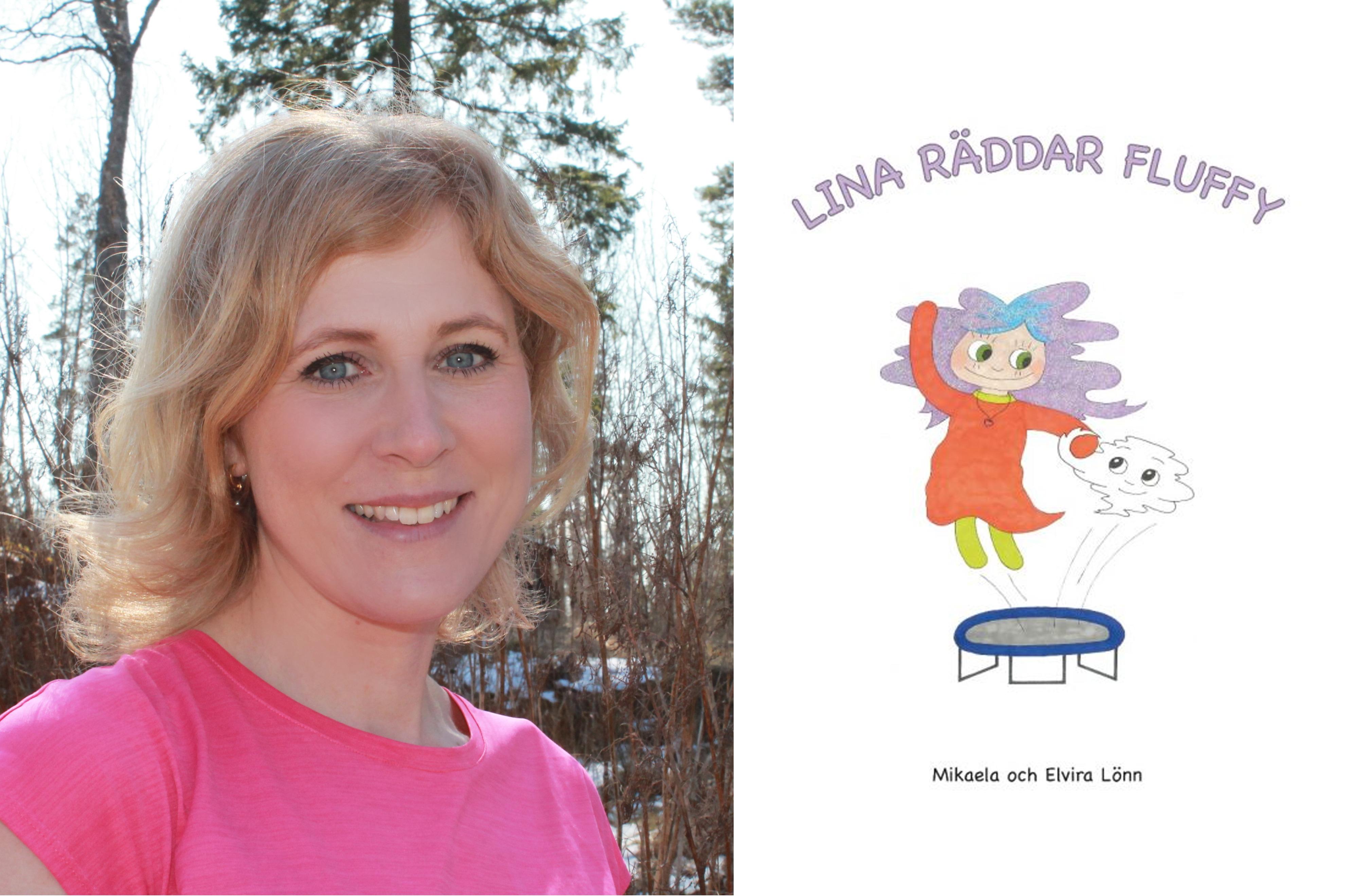 Lina räddar Fluffy av Mikaela och Elvira Lönn