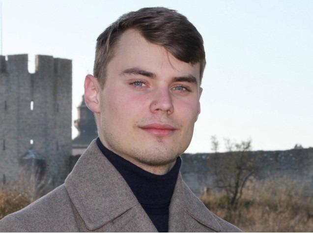 Författarintervju med Valdemar Brobäck Alnehill - Ante portas Wisby
